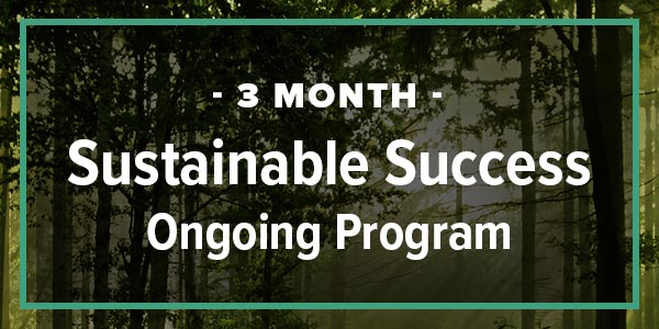 3-Month Sustainable Success Ongoing Coaching